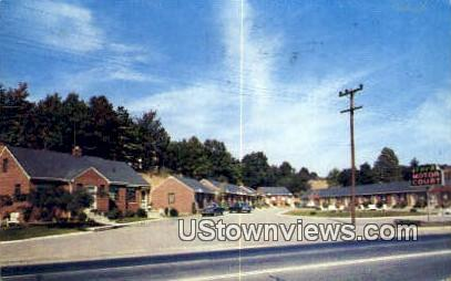 Ford Motor Court  - Alexandria, Virginia VA Postcard