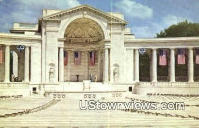 Arlington Memorial Amphitheatre - Misc, Virginia VA Postcard