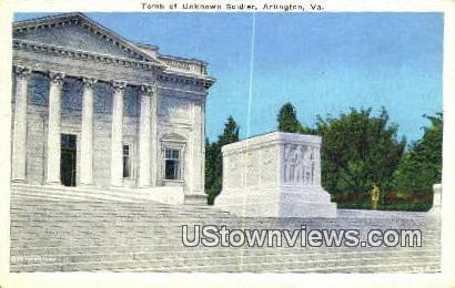 Tomb Of Unknown Soldiers - Arlington, Virginia VA Postcard