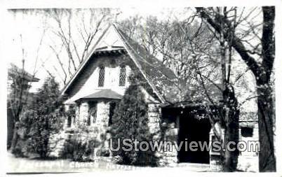 Episcopal Church, Real Photo - Harrisonville, Virginia VA Postcard