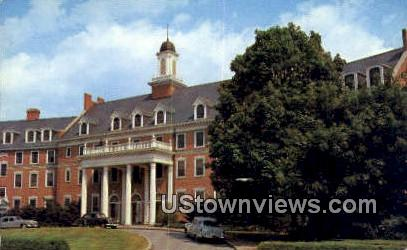 Faculty Center  - Blacksburg, Virginia VA Postcard