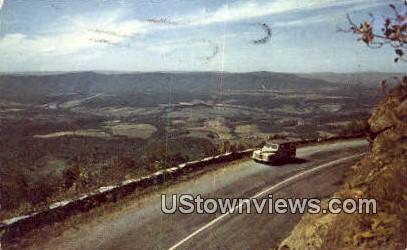 Bend Of The Shenandoah River  - Shenandoah National Park, Virginia VA Postcard