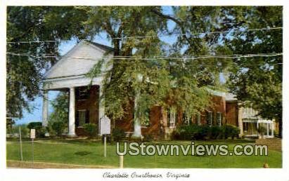 Court House  - Charlotte Courthouse, Virginia VA Postcard