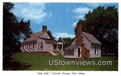 Red Hill  - Brookneal, Virginia VA Postcard
