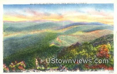 Skyline Drive - Shenandoah National Park, Virginia VA Postcard