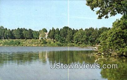 Popes Creek  - Washington's Birthplace, Virginia VA Postcard