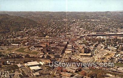 Famous State Street  - Bristol, Virginia VA Postcard