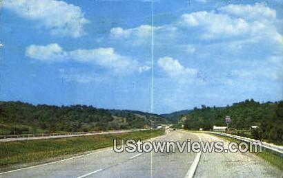 Interstate 77  - Misc, Virginia VA Postcard