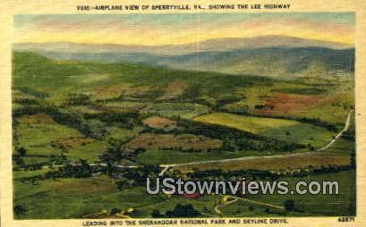 Sperryville , Virginia, VA, Postcard