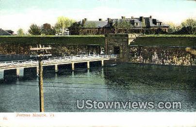 Fortress Monroe , Virginia, VA, Postcard