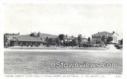 Howard Terrace Motor Lodge  - Bristol, Virginia VA Postcard