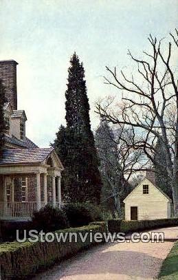 Gunston Hall  - Lorton, Virginia VA Postcard