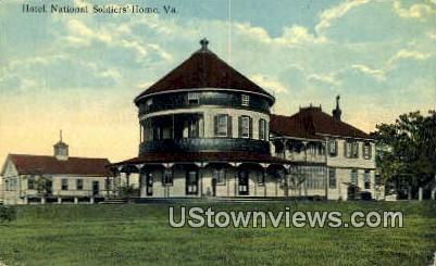 Hotel - National Soldiers Home, Virginia VA Postcard