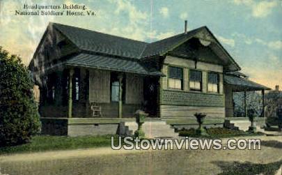 Headquarters Building  - National Soldiers Home, Virginia VA Postcard