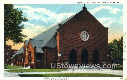 Chapel Blue Ridge Sanatorium - National Soldiers Home, Virginia VA Postcard