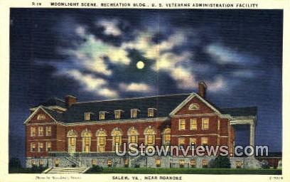 US Veterans Administration - Salem, Virginia VA Postcard