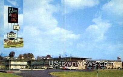Embassy Motor Lodge  - Roanoke, Virginia VA Postcard