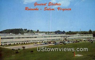 General Electric  - Salem, Virginia VA Postcard