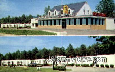 Bowies Motel And Restaurant  - Lorne, Virginia VA Postcard