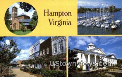 Hampton, Virginia, VA, Postcard