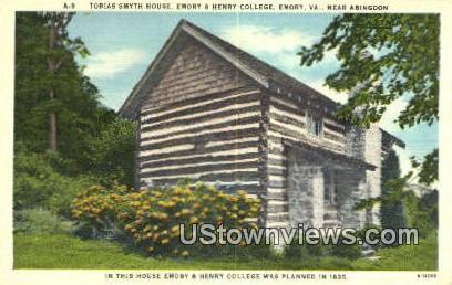 Tobias Smyth House  - Abingdon, Virginia VA Postcard