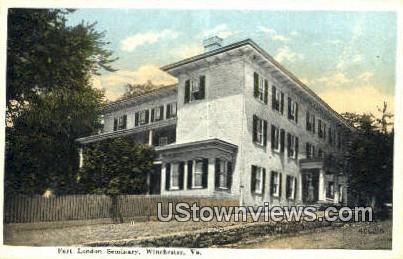 Fort London Seminary  - Winchester, Virginia VA Postcard