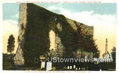 Thomas Lord  - Winchester, Virginia VA Postcard