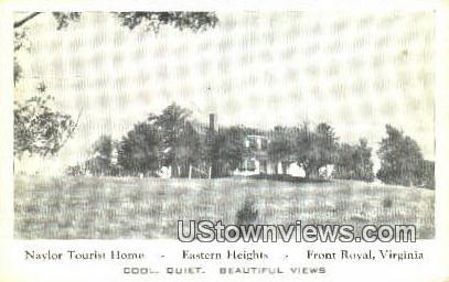 Naylor Tourist Home  - Front Royal, Virginia VA Postcard