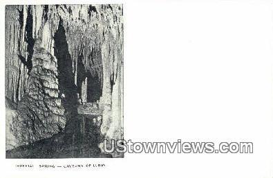 Imperial Spring  - Cavern Of Luray, Virginia VA Postcard