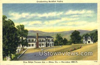 Rockfish Valley  - Afton, Virginia VA Postcard