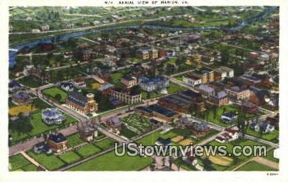 Marion, Virginia, VA, Postcard