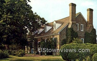 George Washington Birthplace  - Fredericksburg, Virginia VA Postcard