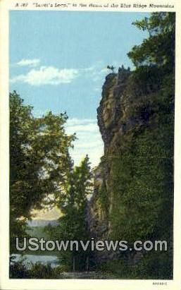Lovers Leap - Misc, Virginia VA Postcard