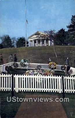 Grave Of John F Kennedy  - Arlington, Virginia VA Postcard