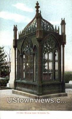 President Monroe'S Tomb  - Richmond, Virginia VA Postcard