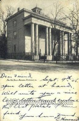 The Old Davis Mansion - Richmond, Virginia VA Postcard