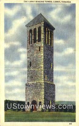 The Luray Singing Tower  - Virginia VA Postcard