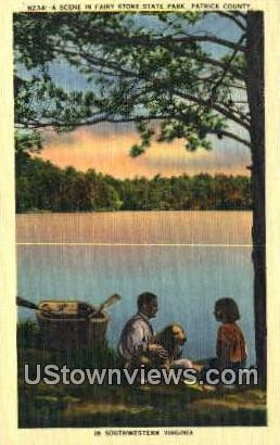 Fairy Stone State Park  - Southwestern, Virginia VA Postcard