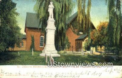 St Johns Episcopal Church  - Hampton, Virginia VA Postcard
