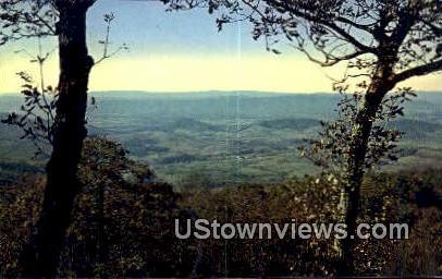 The Tiny Village  - Skyline Drive, Virginia VA Postcard