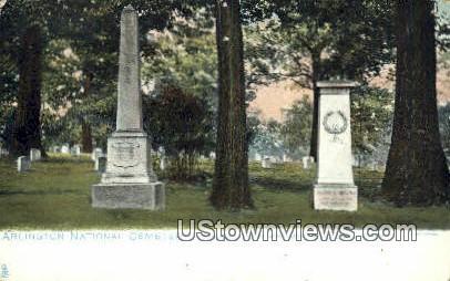 Arlington National Cemetary  - Virginia VA Postcard