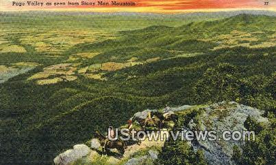 Page Valley  - Shenandoah National Park, Virginia VA Postcard
