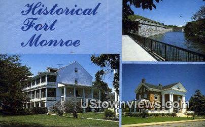 Fort Monroe, Virginia, VA, Postcard