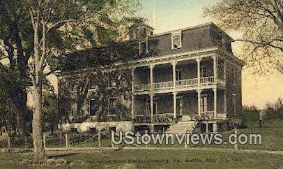 House - Charlottesville, Virginia VA Postcard