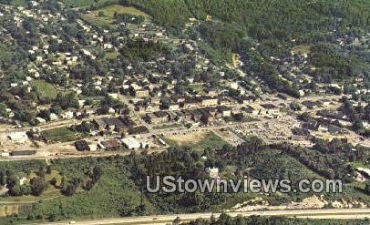 Aerial View Of  - Gate City, Virginia VA Postcard