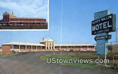 Sleepy Hollow Motel  - Culpeper, Virginia VA Postcard