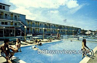 Sea N Sun Motel And Apartments  - Virginia Beach Postcards, Virginia VA Postcard