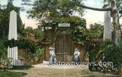 Washington Tomb  - Mount Vernon, Virginia VA Postcard