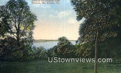 Potomac  - Mount Vernon, Virginia VA Postcard