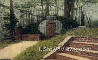 The Old Tomb  - Mount Vernon, Virginia VA Postcard